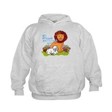 Lion & Lamb Peace On Earth Hoodie