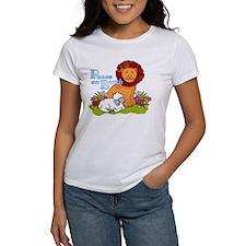 Lion & Lamb Peace On Earth Tee