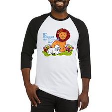 Lion & Lamb Peace On Earth Baseball Jersey