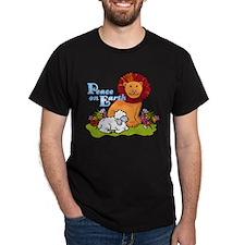 Lion & Lamb Peace On Earth T-Shirt