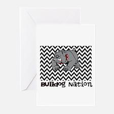 Bulldog Nation Greeting Cards