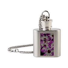 Summer flower Flask Necklace