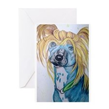 Blonde Beauty Greeting Cards