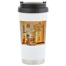 Vintage Dental Office Travel Coffee Mug