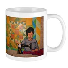Quilted History Mugs