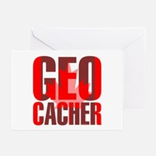 Canadian Geocacher Greeting Cards (Pk of 10)