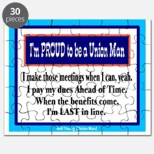 Proud To Be A Union Man-Neil Young/t-shirt Puzzle