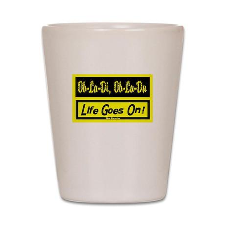 Ob-La-Di/The Beatles Shot Glass