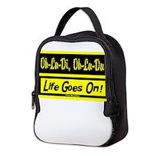 Ob-La-Di/The Beatles Neoprene Lunch Bag