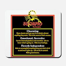 Scorpio-Zodiac Sign Mousepad