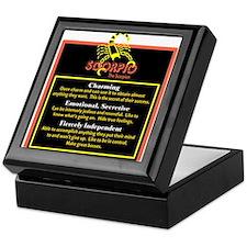 Scorpio-Zodiac Sign Keepsake Box