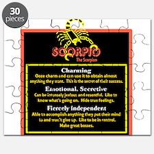Scorpio-Zodiac Sign Puzzle