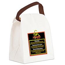 Scorpio-Zodiac Sign Canvas Lunch Bag