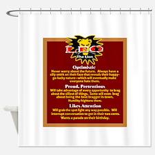 Leo-Zodiac Sign Shower Curtain