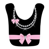 Baby girl Fleece Bibs