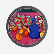 Jawlensky - Blue Vase with Oranges Wall Clock