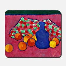 Jawlensky - Blue Vase with Oranges Mousepad