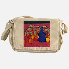Jawlensky - Blue Vase with Oranges Messenger Bag