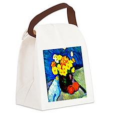 Jawlensky - Floral Still Life  Canvas Lunch Bag