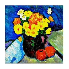 Jawlensky - Floral Still Life  Tile Coaster