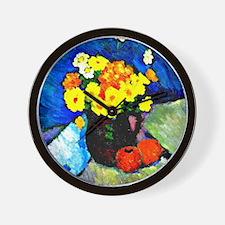 Jawlensky - Floral Still Life  Wall Clock