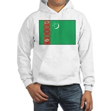 Turkmenistan Flag Hoodie