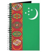 Turkmenistan Flag Journal