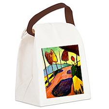 Jawlensky - Murnau Landscape Canvas Lunch Bag