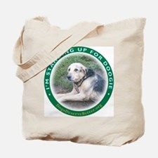 I'm Standing Up for Doogie Ro Tote Bag