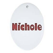 Nichole Oval Ornament