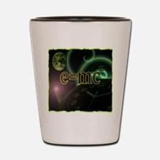 e=mc2 Shot Glass