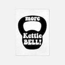 More Kettlebell 5'x7'Area Rug