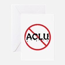 STOP ACLU Greeting Cards (Pk of 10)