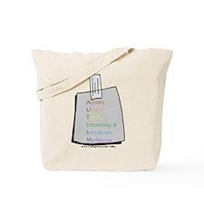 Autistic (Post It) Tote Bag