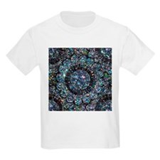 Beaded Sequin Flowers Photo T-Shirt