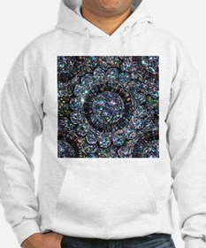 Beaded Sequin Flowers Photo Hoodie