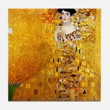 Gustav Klimt Portrait of Adele Bloch- Tile Coaster