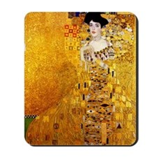 Gustav Klimt Portrait of Adele Bloch-Bau Mousepad