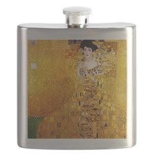 Gustav Klimt Portrait of Adele Bloch-Bauer Flask