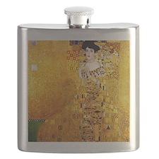 Gustav Klimt Portrait of Adele Bloch-Bauer Flask