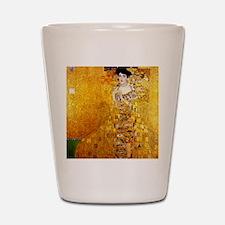 Gustav Klimt Portrait of Adele Bloch-Ba Shot Glass