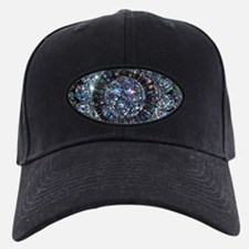 Beaded Sequin Flowers Photo Baseball Hat