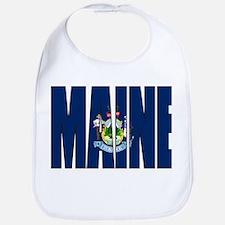 Maine Flag Bib
