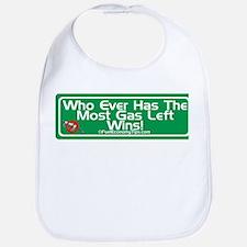 Most Gas Left Wins Bib