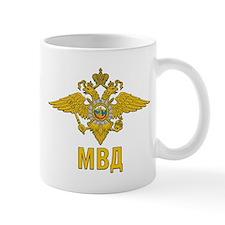 MVD Ministry Of Internal Affairs Emblem Mug