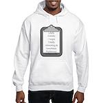 Autism (clipboard) Hooded Sweatshirt
