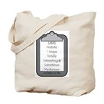 Autism (clipboard) Tote Bag