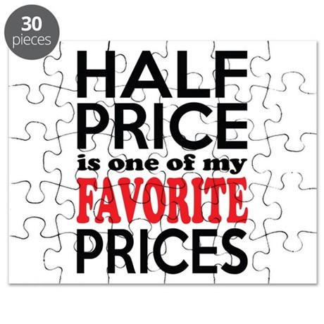 Funny Bargain Hunter Shopaholic Puzzle