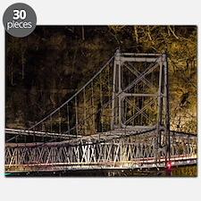 Newell bridge at night Puzzle
