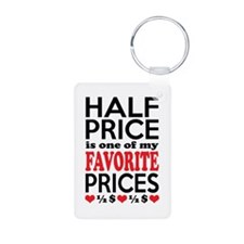 Funny Bargain Hunter Mega Shopper Keychains